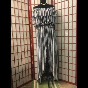 Dresses & Skirts - 🌹Beautiful Off Shoulders Chiffon Maxi Dress SZ 2X